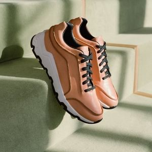 Opening Ceremony Vachetta Leather Tan Sneakers 6
